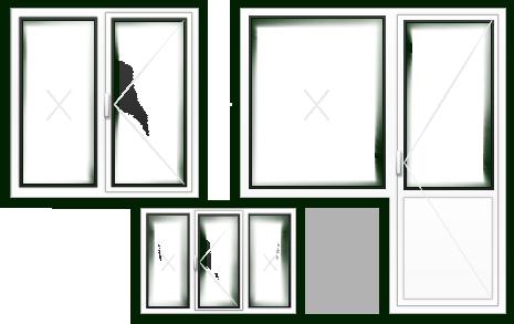 Пластиковые окна ПВХ в